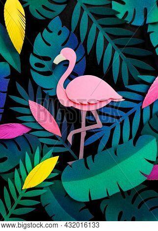Tropical botanic paper craft handmade collection