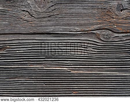 Wood Texture Background. Old Gray Wood Texture For Adding Text Or Working Design For A Background Pr