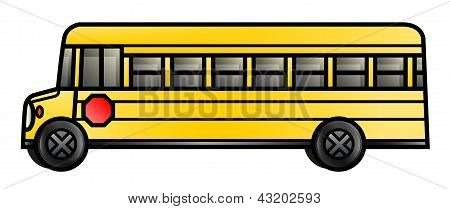 Long School Bus