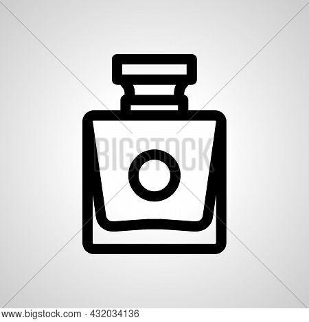Perfume Vector Line Icon. Perfume Linear Outline Icon