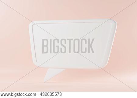 Speak Bubble Text, Talk Chatting Box, Thinking Sign Symbol, Message Box Outline Cartoon, Speech Bubb