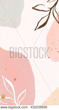 Abstract pastel Memphis mobile phone wallpaper