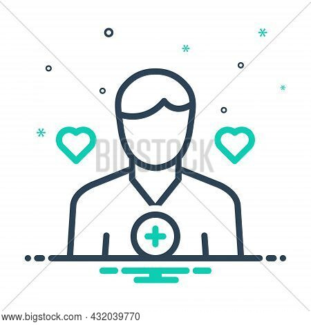 Mix Icon For Aide Assistant Deputy Supporter Helper Subsidiary Adjunct