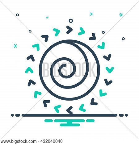 Mix Icon For Spin Revolve Rotate Turn Go-round Whirl Spin-around Whirligig Dizziness