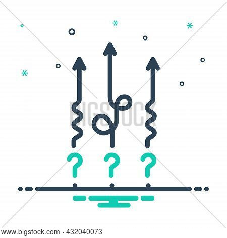 Mix Icon For Difficult Stiff Hitch Arduous Differentiated Messy Difficulties Complexity Difference D
