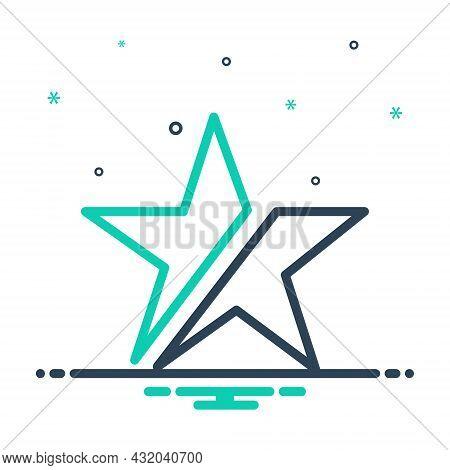 Mix Icon For Consist Be-composed Combine Mix Design Amalgam Concur Broken Star