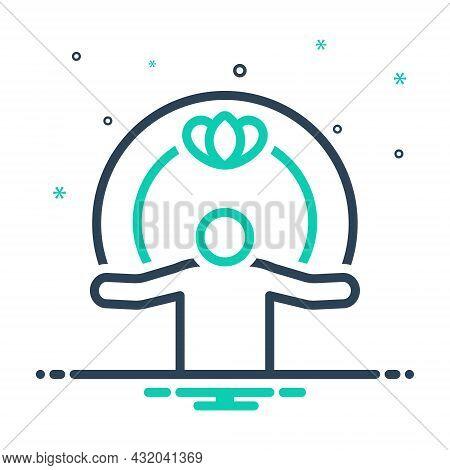 Mix Icon For Spiritual Metaphysical Uncanny Supernatural Superhuman Sacred Religious