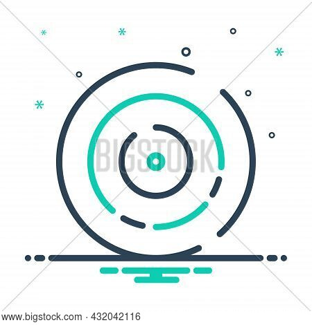 Mix Icon For Circle Cycle Wheel Gyre Disc Disk Ellipse Round Circular Refresh
