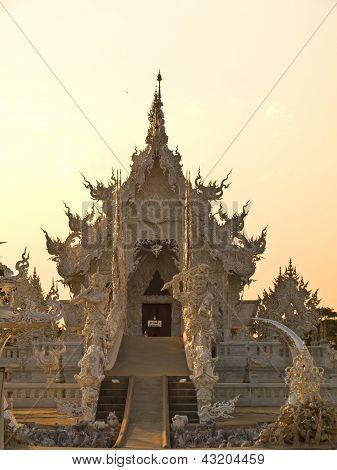 Decoration Of Buddhist Monastery, Wat Rong Khun At Chiang Rai, Thailand