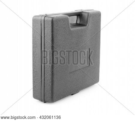 Black Case Isolated On White Background Will, One, Lock, Luggage, On, Business, Case, Travel