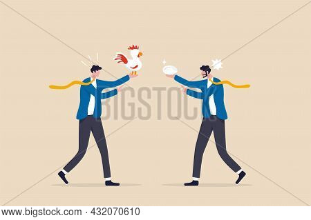 Business Argument, Conflict Or Disagreement, Wasted Meeting Time Arguing With No Result, Controversy