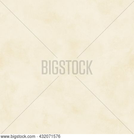 Craft Aged Old Paper Seamless Pattern. Abstract Empty Blank Background. Light Beige Color Grunge Rec