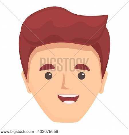Animated Articulation Icon Cartoon Vector. Mouth Speech. Sound Smile