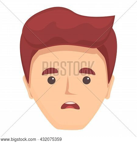 Psychology Speak Icon Cartoon Vector. Mouth Speech. Talk Motor