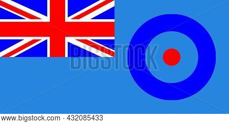 A View Of The Royal Air Force Ensign