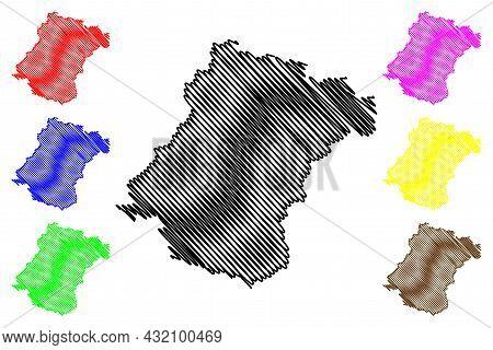 Schwalm-eder District (federal Republic Of Germany, Rural District Kassel Region, State Of Hessen, H