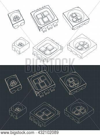Led Rgb Blueprints Set