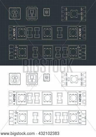 Led Strip Light Blueprints