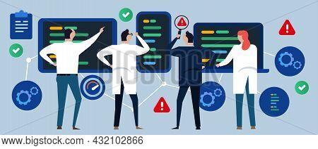 Cross-platform Multi Device Testing Software Application Test Speed Performance Of Code Find Error