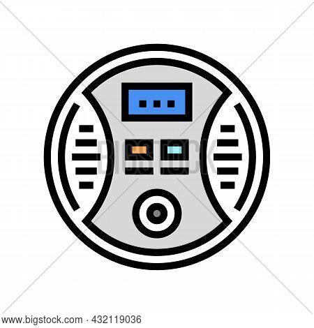 Carbon Monoxide Detector Color Icon Vector. Carbon Monoxide Detector Sign. Isolated Symbol Illustrat