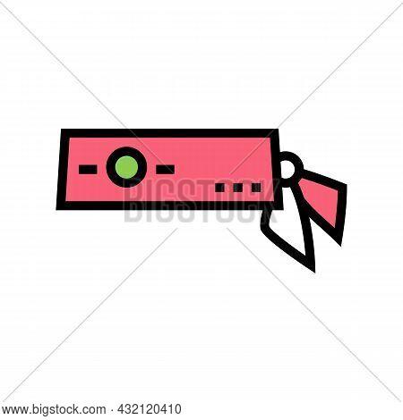 Headband Tennis Player Color Icon Vector. Headband Tennis Player Sign. Isolated Symbol Illustration