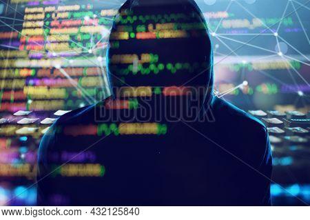 Hidden Hacker Works In The Dark To Steal Data Online