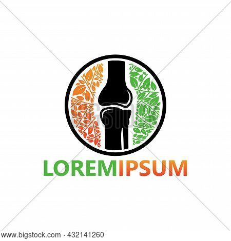 Natural Orthopedic Logo Template Design Vector, Emblem, Design Concept, Creative Symbol, Icon