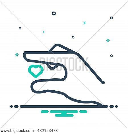 Mix Icon For Tiny Little Puny Teeny Lilliputian Small Midget Mini Heart
