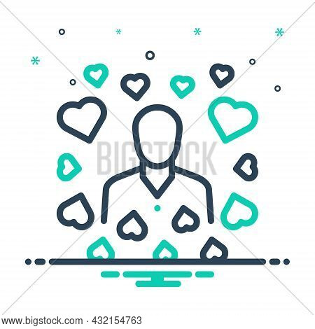 Mix Icon For Modest Hackneyed Common Average Middle Humble In-love Simple Integrity Unpretentious