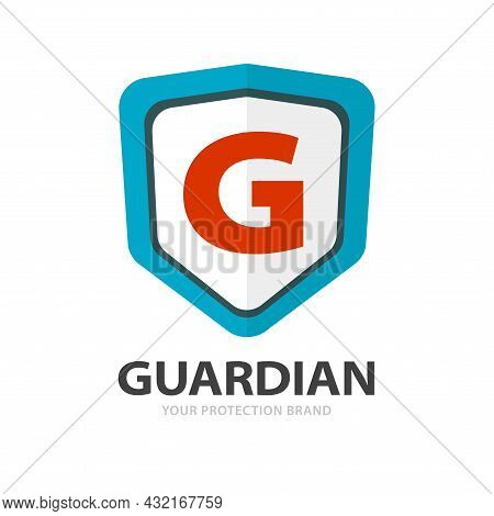 Protection Shield Safety Logotype Or Secure Privacy Defence Logo Template Design Vector Icon Flat Ca