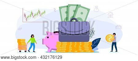 Investor Portfolio As Financial Work History Presentation Tiny Persons Special Offer Investment And