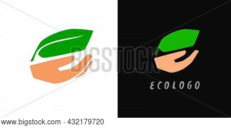 Green Environment Related Icon. Eco Friendly Flat Sign. Save The Nature Environment Ecology Concept