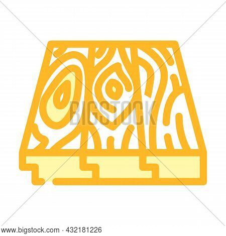 Patterned Flooring Color Icon Vector. Patterned Flooring Sign. Isolated Symbol Illustration