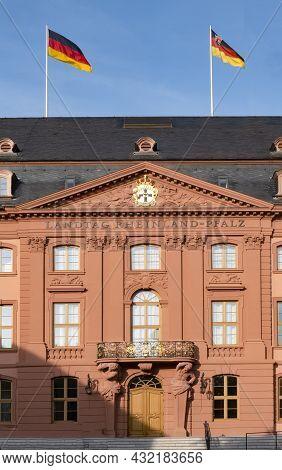 Government Building  (landtag) Of The German State Rheinland-pfalz In Mainz