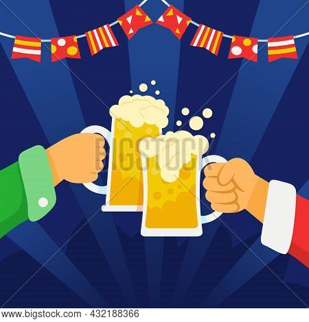 Celebrate Something And Make Bonding With Your Friends At Beer Party.
