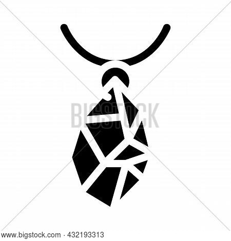 Jewelry Making Glyph Icon Vector. Jewelry Making Sign. Isolated Contour Symbol Black Illustration
