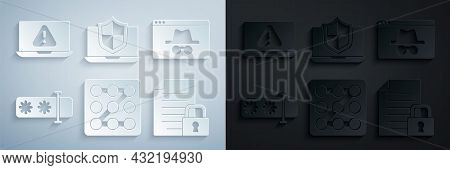 Set Graphic Password Protection, Browser Incognito Window, Password, Document And Lock, Laptop Prote