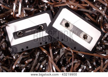 Photo of Audio cassettes