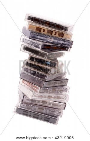 Photo of Audio K7 pile