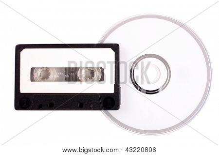 Photo of Audio cassette to compact disk