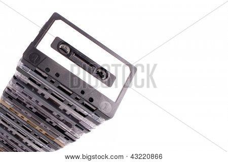 Photo of Cassetes pile