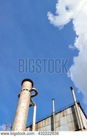 Petrochemical Industrial Air Separation Plant. Liquid Oxygen Nitrogen And Air Cryogenic Industrial P