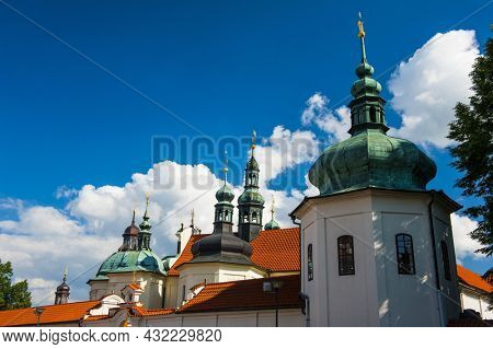 Baroque pilgrimage Church of the Assumption of the Virgin Mary in Klokoty. Tabor, Czech Republic