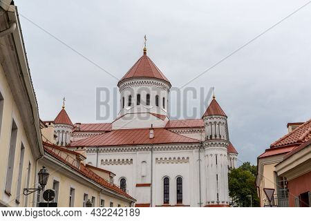 View Of The Orthodox Cathedral Of The Theotokos