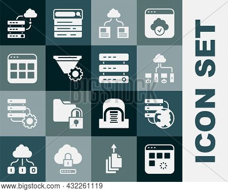 Set Loading Data Window, Network Cloud Connection, Computer Network, Cloud Technology Transfer, Filt