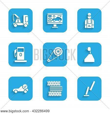 Set Timing Belt Kit, Car Tire Wheel, Windscreen Wiper, Gear Shifter, Auto Service Check Automotive,