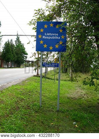 Art In The Border Lithuania And Belarus, Europe