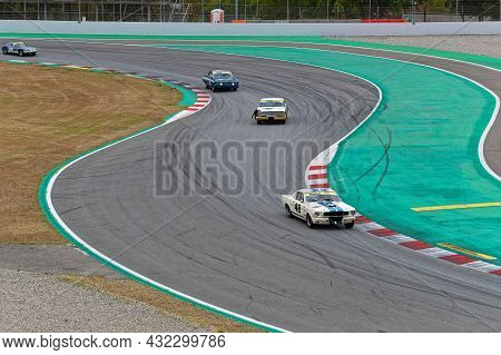 Barcelona, Spain, September 4, 2021 : Old Touring Cars Support Race During 24 Hours Series By Hancoo