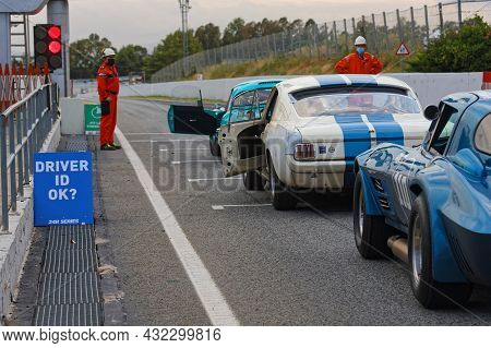 Barcelona, Spain, September 3, 2021 : Old Touring Cars Support Race During 24 Hours Series By Hancoo
