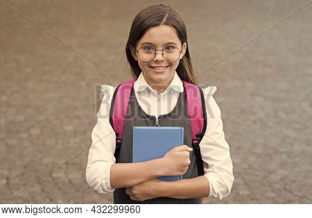 This Is A New Beginning. Happy Child Back To School. Formal Schooling. September 1. Knowledge Day. H